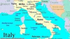 Итальянские авиалинии. Окно в европу