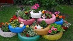 Из чего можно сделать клумбы для цветов на даче: интересные идеи