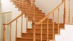 Изящные лестницы на косоурах