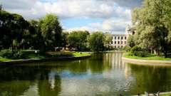 Известные сады и парки спб