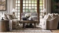 Изысканный интерьер гостиной в стиле прованс