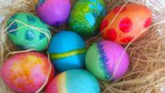 Яйца на пасху - традиционный подарок христиан