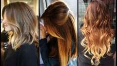 Эффект омбре на волосах - выгодная игра оттенков