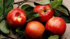 Эффективная маска для лица из яблока
