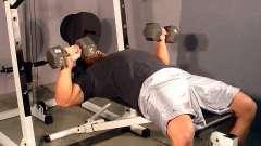 Эффективные упражнения с гантелями для грудных мышц