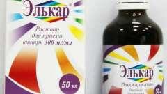 """""""Элькар"""" для грудничков: отзывы врачей и мам"""