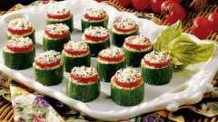 Кабачки, запеченные с сыром и помидорами: два разных варианта приготовления