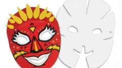 Как делается маска из бумаги своими руками за один вечер