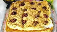 Как готовится десерт «мазурка» (торт)?