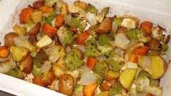 Как готовится в духовке картошка с овощами: рецепты, ингредиенты