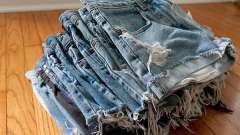 Как из джинсов сделать модные шорты