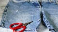 Как из джинсов сделать мужские шорты самостоятельно?
