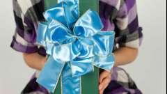 Как красиво завязать бант для подарка и для девочки