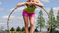 Как крутить обруч, чтобы похудеть в нужных для вас местах