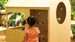 Как можно сделать детские домики своими руками из дерева?