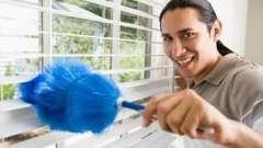 Как мыть жалюзи горизонтальные?