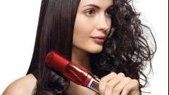 Как накручивать волосы утюжком для выпрямления?