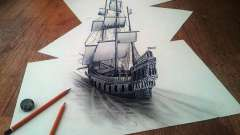 Как нарисовать корабль. Советы