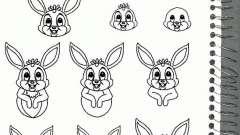 Как нарисовать зайца, используя карандаш