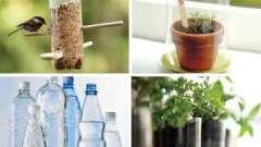 Как обустроить свой участок? Легко: поделки из бутылок – для сада самый универсальный материал