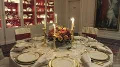 Как оформить праздничный стол на юбилей