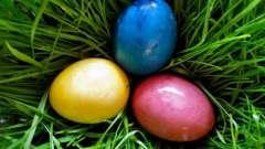 Как окрашивать пасхальные яйца