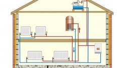 Как организовать отопление частного дома своими руками: расположение труб