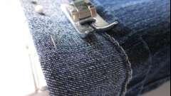 Как подшивать джинсы, чтобы не испортить изделие?