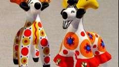 Как появилась дымковская игрушка. История для детей и взрослых