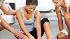 Как поступить, если произошло растяжение связки голеностопного сустава?