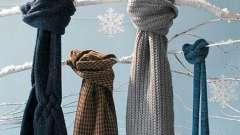 Как повязать шарф: и зимой, и летом