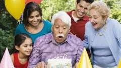 Как правильно подготовить поздравление с 70-летием мужчине