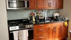 Как преображается малогабаритная кухня