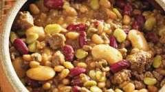 Как приготовить фасоль с мясом в мультиварке