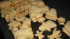 Как приготовить фигурное печенье