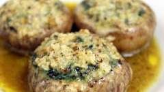 Как приготовить грибной суп и фаршированные шампиньоны в мультиварке