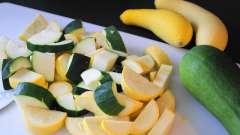 Как приготовить кабачки, тушеные в сметане?