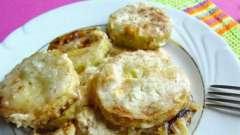 Как приготовить кабачок со сметаной: несколько рецептов
