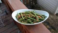 Как приготовить лобио из зеленой стручковой фасоли?
