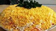 """Как приготовить """"манон"""" - салат из овощей, с курицей и сыром"""