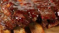 Как приготовить маринад для свиных ребрышек?