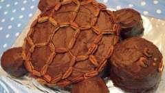 """Как приготовить необычный торт """"черепаха"""" для детского праздника?"""
