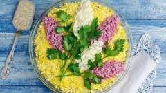 """Как приготовить салат """"сирень"""": идеи рецептов"""
