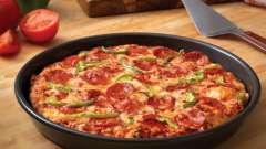 Как приготовить жидкое тесто для пиццы