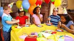 Как проводить детские дни рождения дома? Проведение детского дня рождения дома