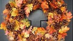 Как рождается композиция из осенних листьев
