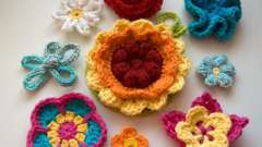 Как сделать цветок, вязанный крючком? Схема