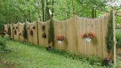 Как сделать декоративный забор своими руками?