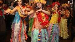 Как сделать гавайский костюм для зажигательной вечеринки