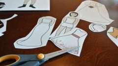 Как сделать из бумаги куклу: несколько идей